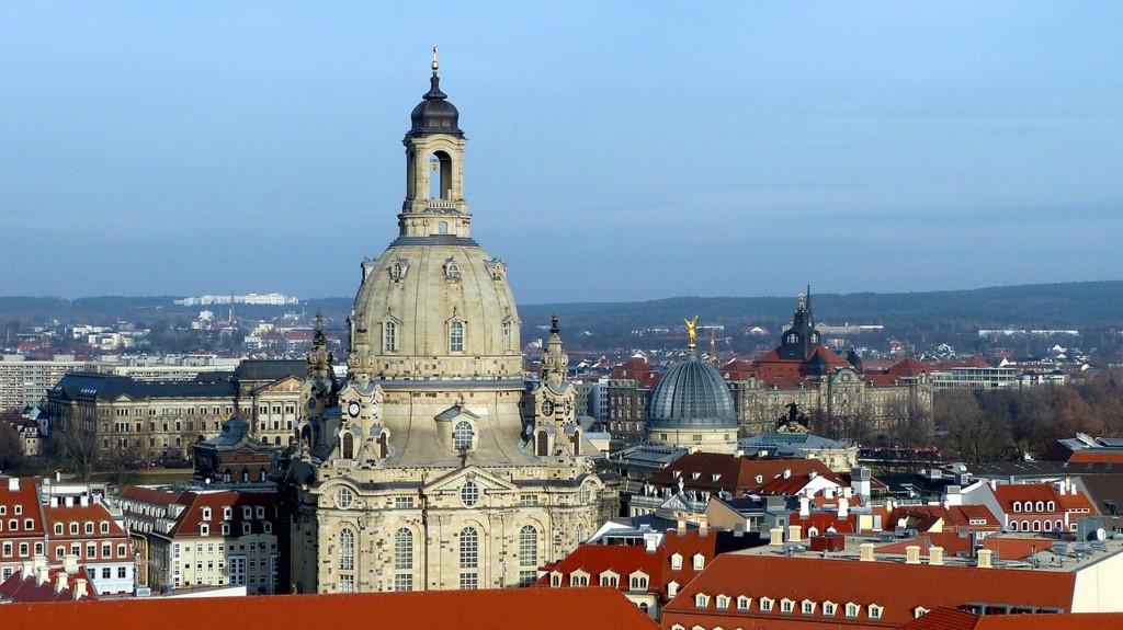 Dresden mit Blick auf die Frauenkirche